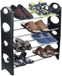 Footwear Display Stands Portable Multipurpose Modern 100 Layer Metal Shoe Rack at Rs 100 89
