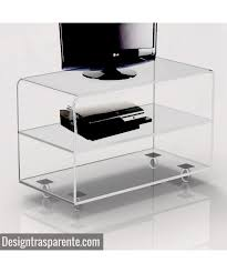 acrylic tv stand.  Acrylic Clear Acrylic TV Stand 75x50 H75 With Acrylic Tv Stand C