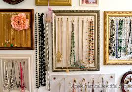 Gallery Wall Jewelry Display