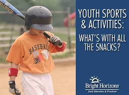 Youth Sports And Activities Whats With All The Snacks
