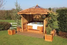 hot tub enclosures ideas and plans
