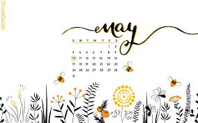 May 2020 - Bumblebees Desktop Calendar ...
