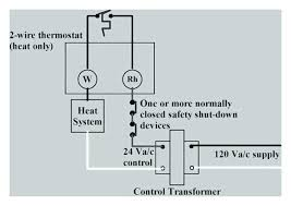 honeywell thermostat heating only wiring diagram for thermostat home honeywell thermostat