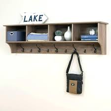 Wall Mounted Coat Rack With Shelf Walmart Wall Coat Rack With Shelf Like This Item Wall Mounted Coat Rack With 5