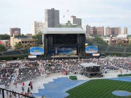 Wrigley Field Seating Chart Fall Out Boy Wrigley Field Section 314 Concert Seating Rateyourseats Com