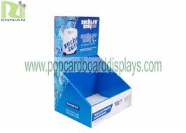 retail display stand cardboard counter displays of storage box encd082