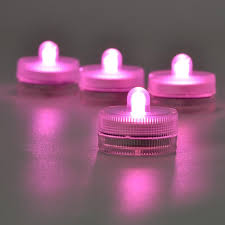 Color Changing Battery Tea Lights Us 4 2 12pcs Lot Battery Operated Slow Color Changing Rgb Submersible Led Tea Light Waterproof Led Candles For Wedding Party Decor In Holiday