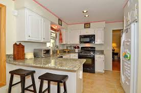 Small Picture Black White Kitchen Cabinets Zampco
