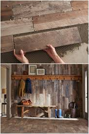 Home Depot Kitchen Floor Tiles We Love The Ease Of Installation Of Wood Look Ceramic Tile Planks