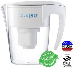 Waterfilter Amazoncom Aquagear Water Filter Pitcher Fluoride Lead