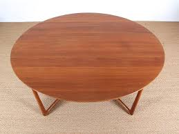 mid century modern teak folding dining table by hvidt and mølgaard nielsen model 20