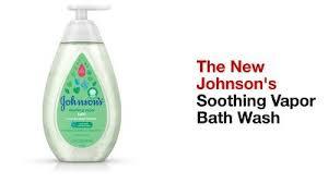Johnson's Baby Soothing Vapor Bath Wash - 27.1oz : Target
