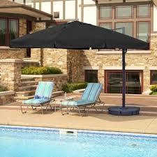 patio with square pool. Santorini Ii 10\u0027 Square Cantilever Umbrella Patio With Pool U