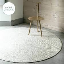 wool rug round custom made cable knit modern round hand braided woven wool rug white rugs wool rug
