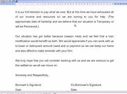 mortgage modification hardship letter loan modification hardship letter youtube