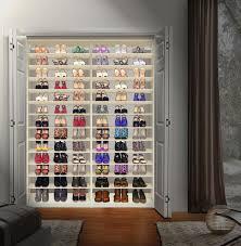 custom shoe storage closet shoe closet installed