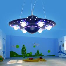 children bedroom lighting. Superb Boys Bedroom Lights Pendant Lamp LED UFO Cartoon Children Light 31W 40W Ideas Flying Lighting O