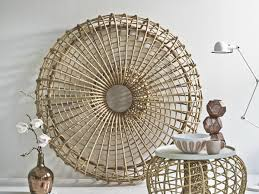 rattan round ottoman coffee table vintage cane glass woven wicker stirring image ideas tables and end