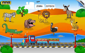 Kids Animal Train First Word Android Apps On Google Play