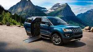 the world leader in mobility vehicles introduces braulity mxv based on the 2016 ford explorer mxv is the world s first wheelchair accessible suv