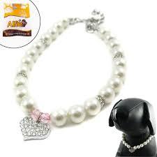 Designer Pet Jewelry Alfie Couture Designer Pet Jewelry Pinky Crystal Heart