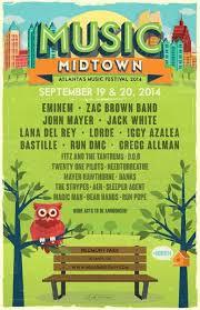 Formerly the atlanta jewish music festival. Music Midtown Festival Atlanta Lineup Announced