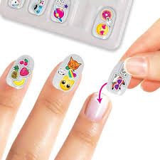 Buy Crayola Creations Sticker Doodle Nail Art Kit Online at Toy ...