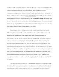 example of profile essays co classroom profile essay