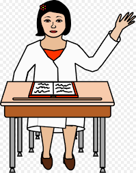 student desk teacher school clip art student