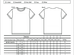 Retail Inventory Spreadsheet And Sample T Shirt Order Form On Forms ...
