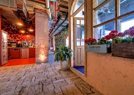 creative google office tel. Google\u0027s Tel Aviv Headquarters Include A Meeting Area Filled With Orange Trees Creative Google Office