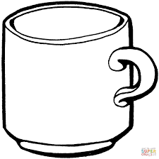 Small Picture Hot Chocolate Coloring Page New Cup Pages glumme