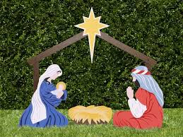 home outdoor nativity sets the holy family 1