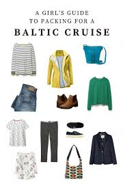 7 Day Cruise Packing List The Best Baltic Cruise Packing List For Female Travellers