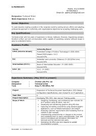 Position Designation Tool Technical Writer Resume Padmavati 1
