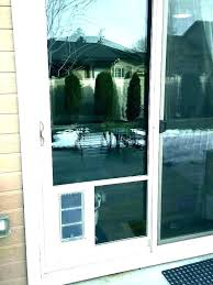 cost to install a patio door how to install a glass sliding door dog door in