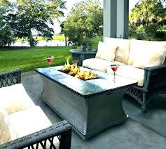 gas fire pit table uk round gas fire pit table