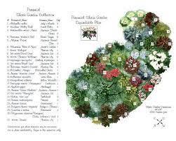 shade garden plans perennial garden
