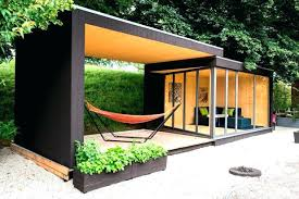 S Outdoor Office Shed Appealing Prefab House Sliding Space A Garden  Modern