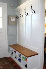 Entry Way Bench And Coat Rack