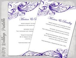 Free Printable Wedding Invitation Templates For Word Wording