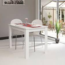 Table Blanche Cuisine Table Cuisine Avec Rallonge Maxiloisirsplus