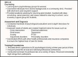 skills professional language resume