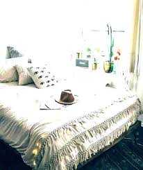 boho tassel quilt cover duvet magical thinking duvets covers comforter comfo