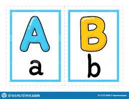 Free Alphabet Flash Cards Flash Card Alphabet Vector Colored Alphabet Flash Cards