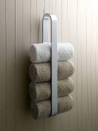 Amusing Wall Mount White Iron Towel Rack Ideas Hang On Wooden Wall Bathroom  Panels As Handmade