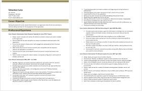 Junior Network Administrator Resume Best Resume Examples