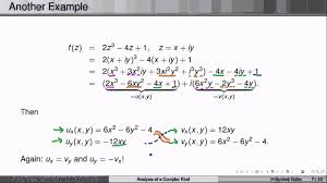 week3lecture2 the cauchy riemann equations you