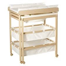 roba baby bath and changing table in one with pull out tub