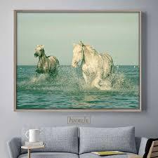 on nursery canvas wall art canada with wild horse print wild horse art horse decor horse wall art